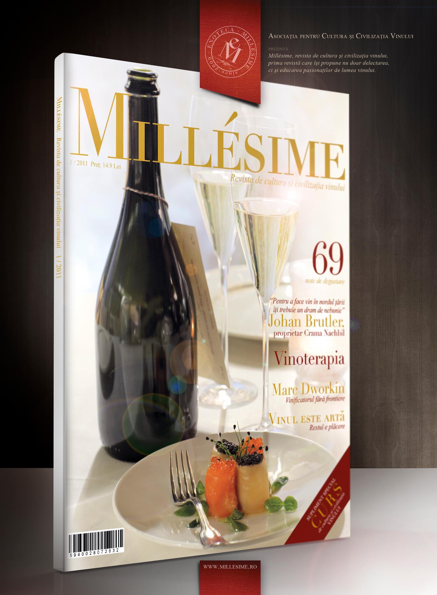 Prezentarea echipei redactionale Millésime