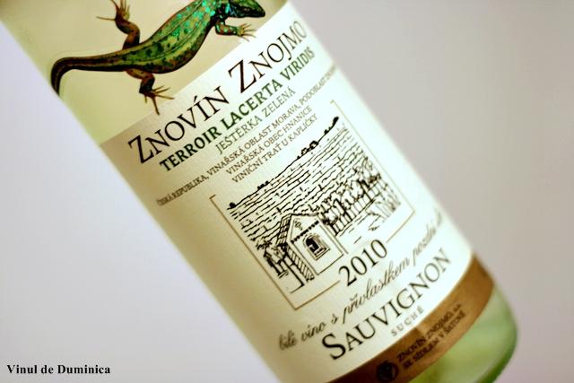 Sauvignon Blanc 2010, Znovin Znojmo