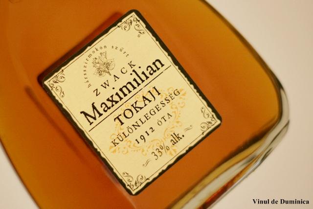 Zwack Maximilian, Spirit of Tokaj