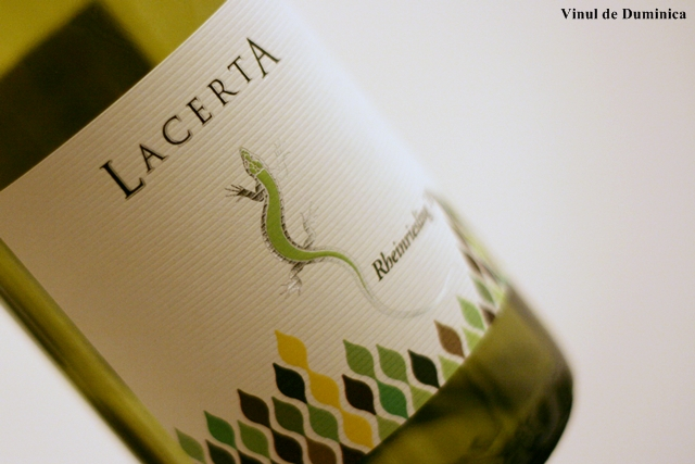 Rheinriesling 2010, LacertA Winery