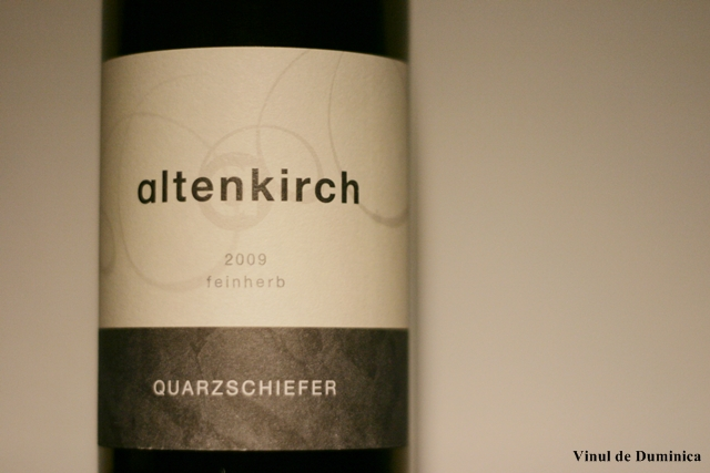 Riesling Quarzschiefer 2009, Altenkirch