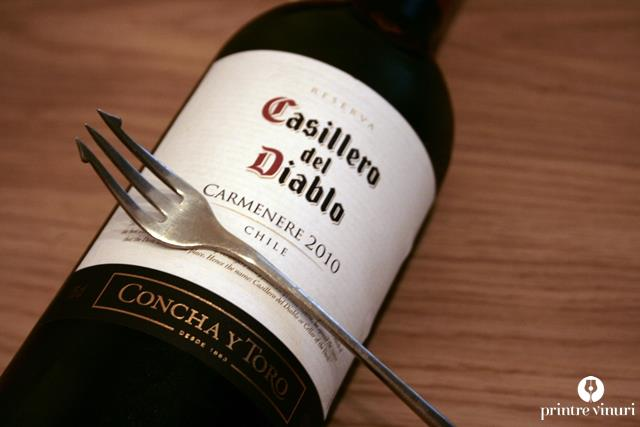 Carmenere Casiliero del Diablo 2010, Concha Y Toro