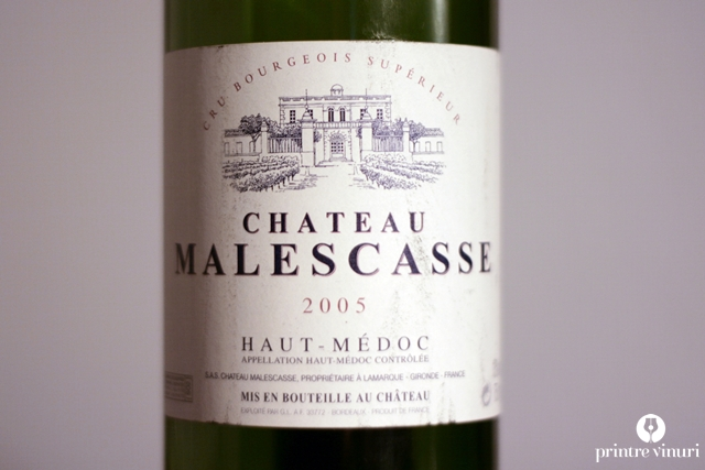 Chateau Malescasse 2005, Haut-Medoc Cru Bourgeois Superieur