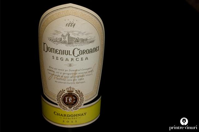 Chardonnay Elite 2011, Domeniul Coroanei Segarcea
