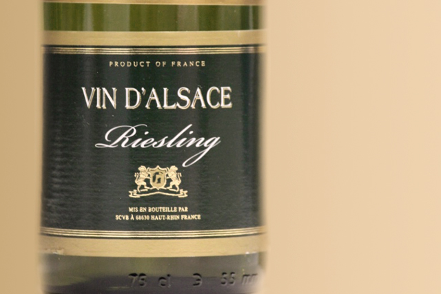 Vin D'Alsace Riesling 2011