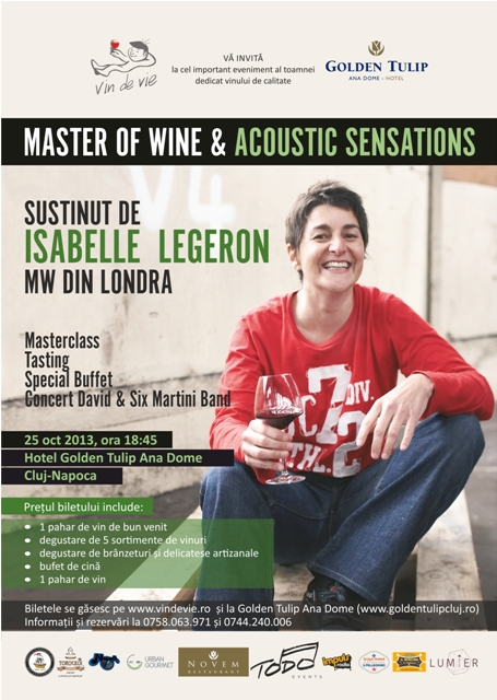 Master of Wine & Acoustic Sensations
