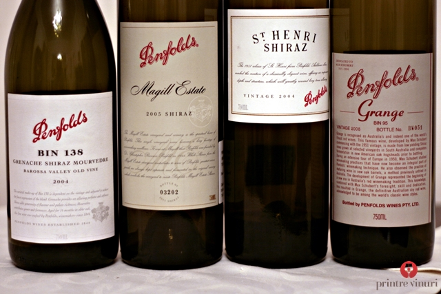 Degustare Penfolds Icon & Luxury Wines @ Enoteca Millesime, Oradea