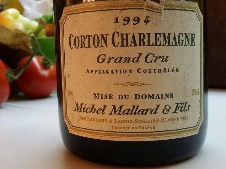 Domaine Michel Mallard & Fils – Corton Charlemagne Grand Cru 1994
