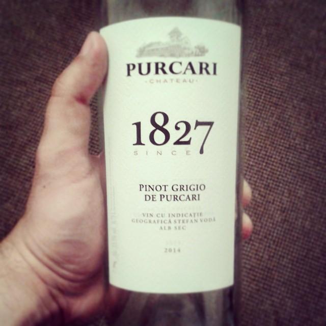 Pinot Grigio 2014, Vinaria Purcari