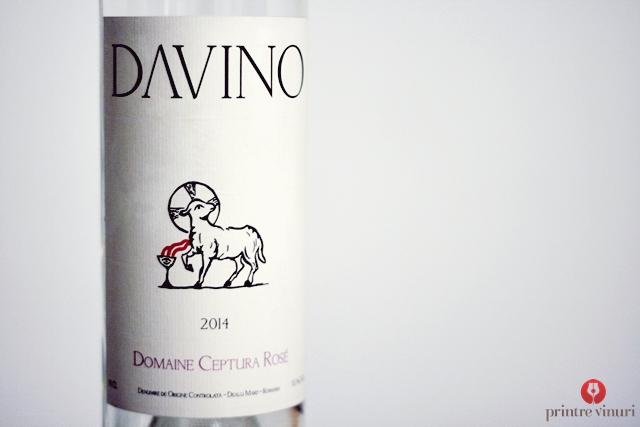 Domaine Ceptura Rose 2014 Davino