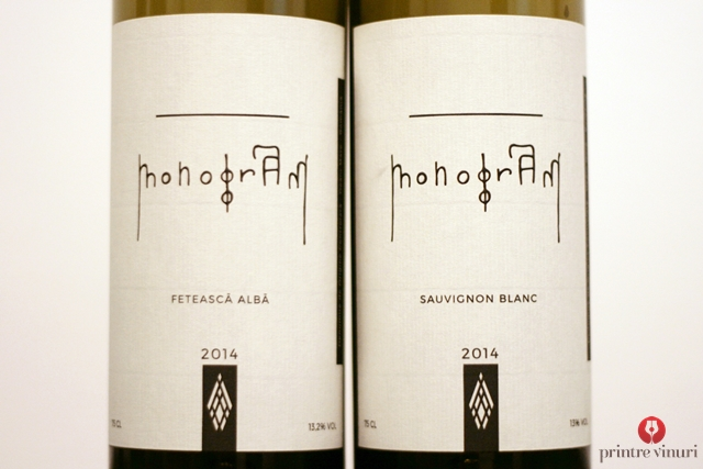 Monogram, Unicom Production: Feteasca Alba 2014 si Sauvignon Blanc 2014