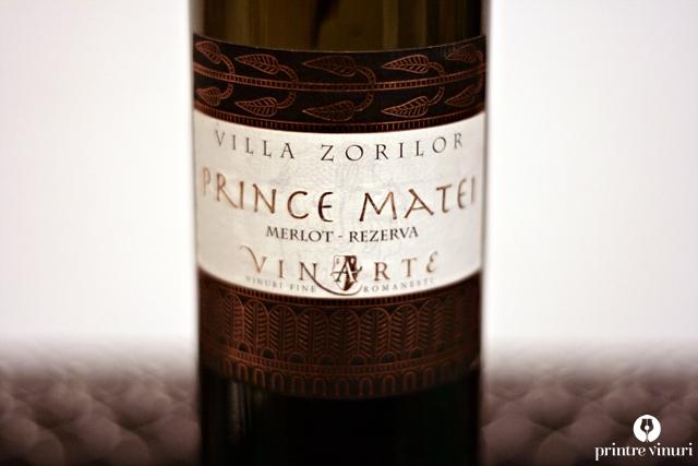 Prince Matei 2006, Vinarte