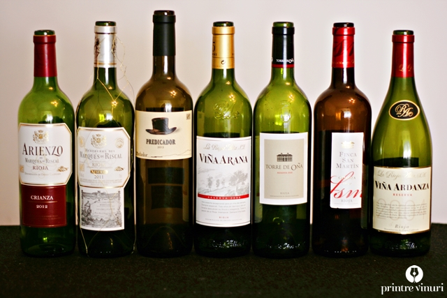 Degustare Rioja: Marques de Riscal, Bodega Contador, Rioja Alta SA