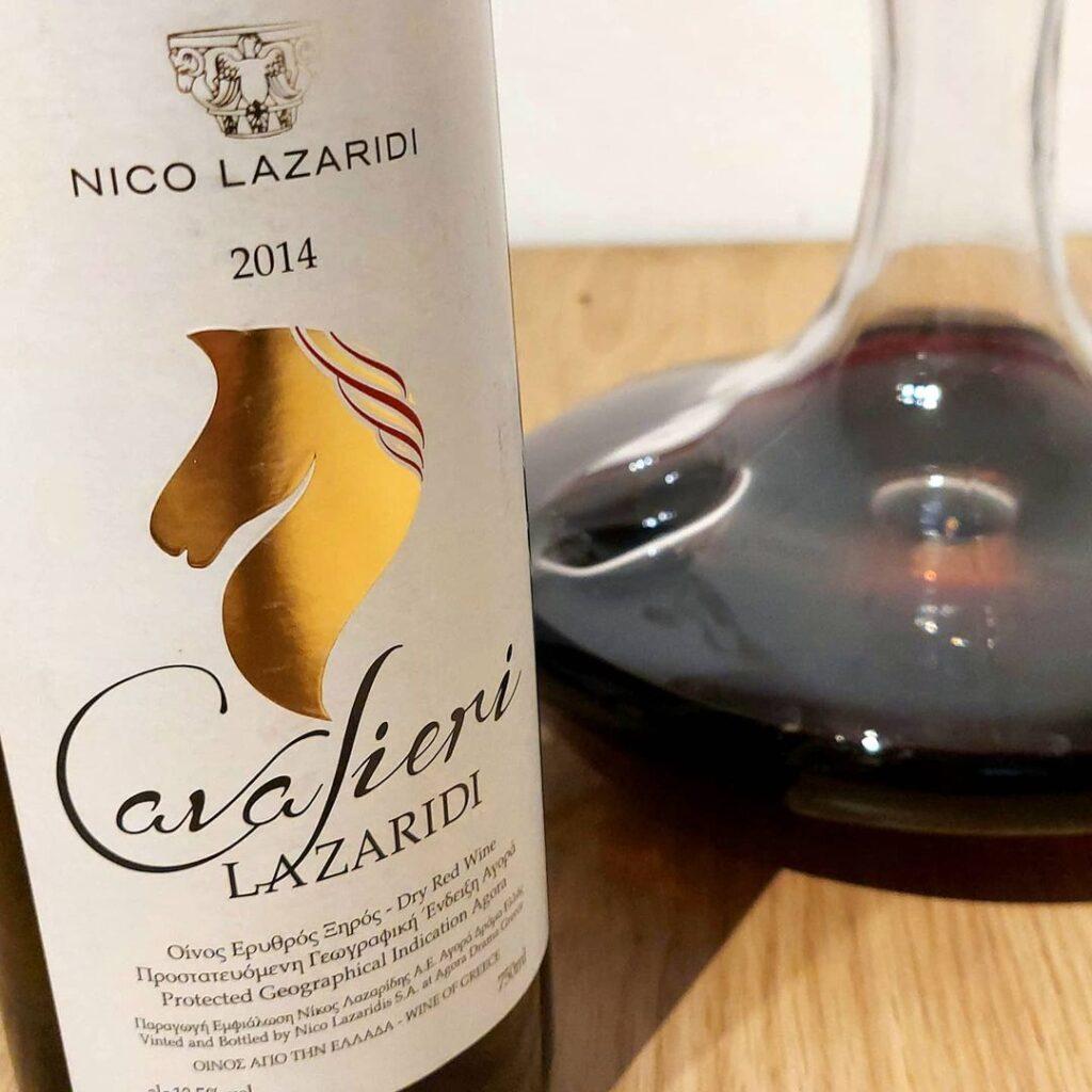 2017 Chateau Nico Lazaridi Red & 2014 Cavalieri Lazaridi Red, Nico Lazaridi