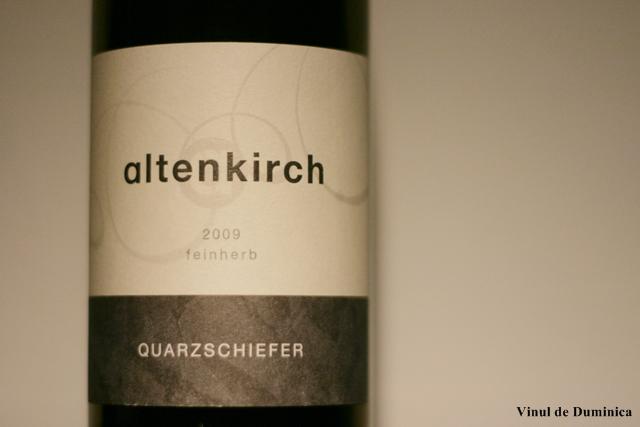 Riesling Quarzschiefer 2009, Altenkirch