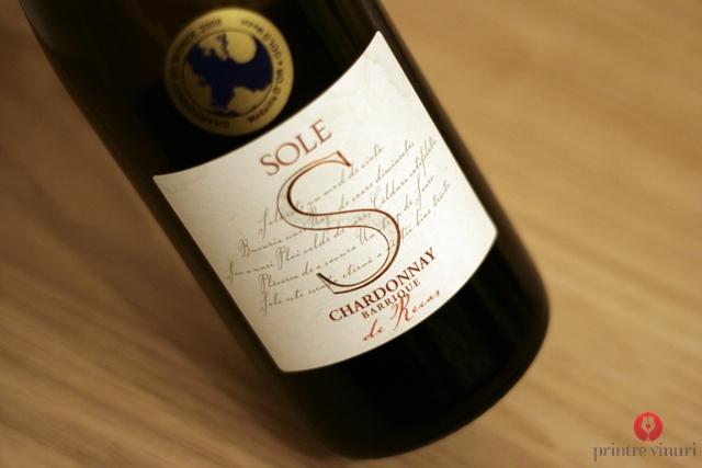 Chardonnay Barrique Sole 2007, Cramele Recas