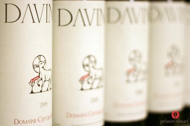 Verticala Domaine Ceptura Rouge 2004-2009, Davino @ Restaurant Graf