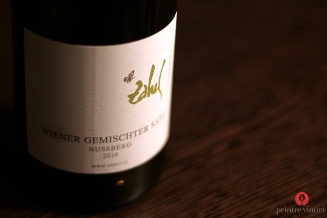 Wiener Gemischter Satz Nussberg 2010, Zahel