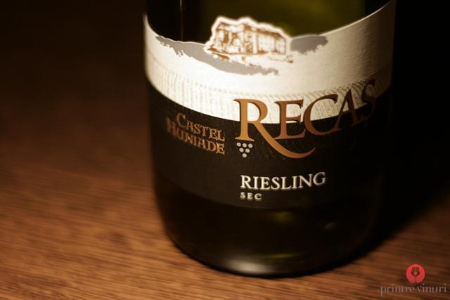 Riesling, Rose si Cabernet Sauvignon Castel Huniade 2011, Cramele Recas