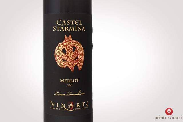 Merlot Castel Starmina 2010, Vinarte