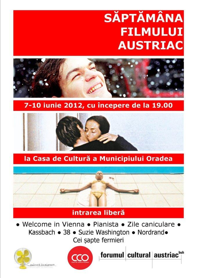 Saptamana filmului austriac @ CCMO, Oradea