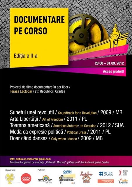 Documentare pe Corso 2012 @ Str. Republicii, Oradea