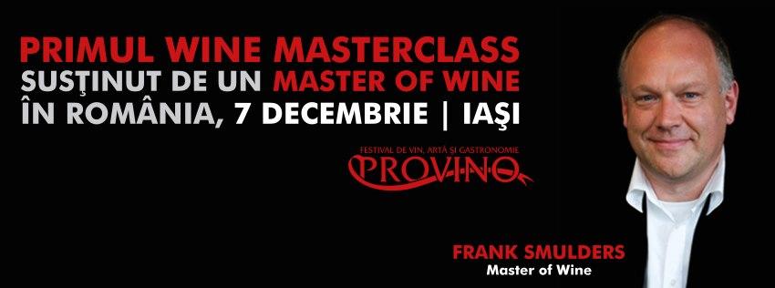 (P) Provino Iasi 2012 prezinta: Meet the Master! Of Wine!