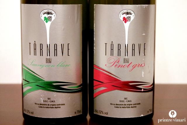Sauvignon Blanc 2011 si Pinot Gris 2011, Riviera Company Blaj (Dorel Popa)