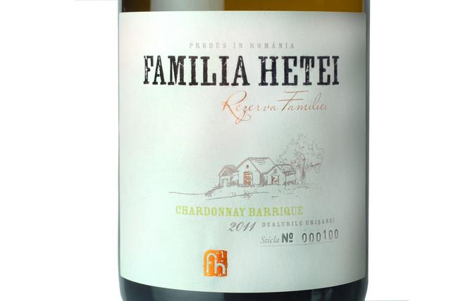 Chardonnay Barrique 2011, Familia Hetei