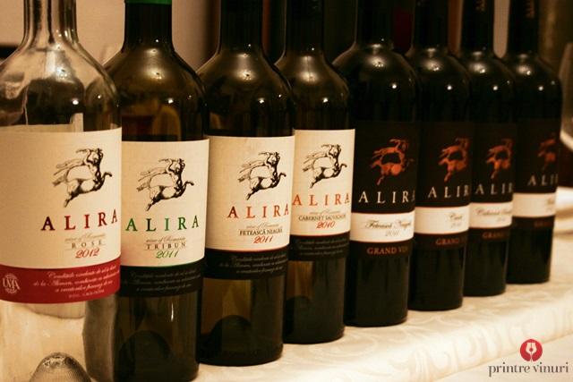 Degustare Alira & Alira Grand Vin, WineRo @ Enoteca Millesime, Oradea