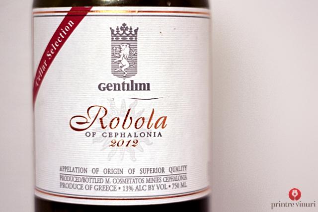 Robola Cellar Selection 2012, Gentilini Winery