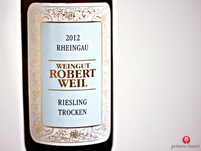 Riesling 2012, Weingut Robert Weil