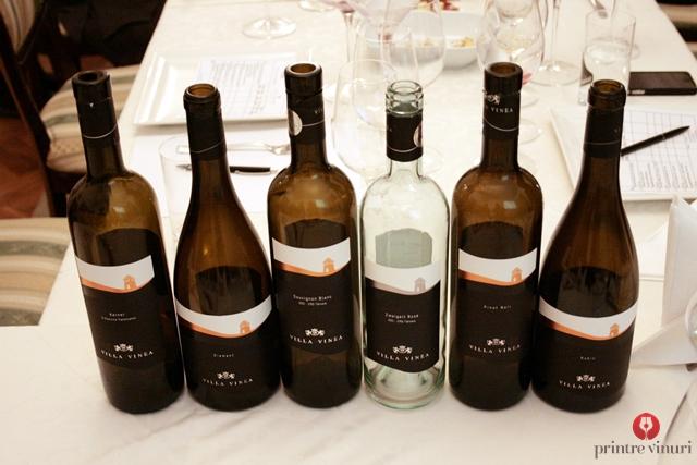 Degustare Villa Vinea / Castel Vinum @ Enoteca Millesime, Oradea