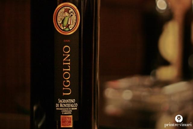 Sagrantino di Montefalco Ugolino 2006 Magnum & 2007, Terre de Trinci