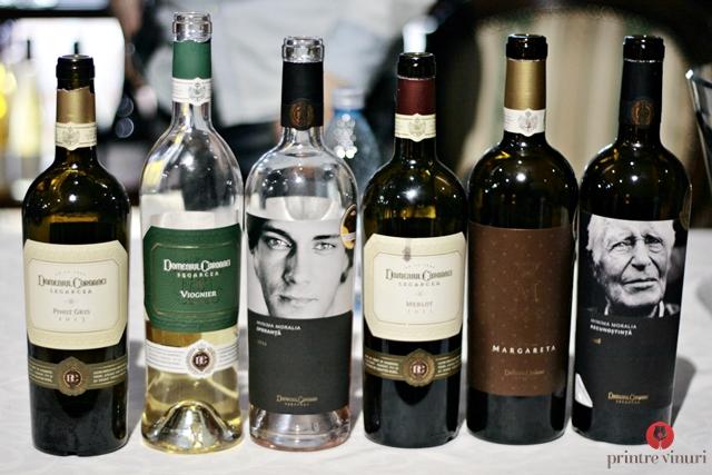 Degustare Domeniul Coroanei Segarcea @ Millesime Pop Up Wine Bar, Oradea