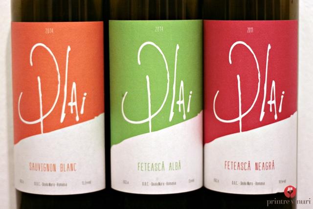 Plai, Unicom Production: Sauvignon Blanc 2014, Feteasca Alba 2014, Feteasca Neagra 2011