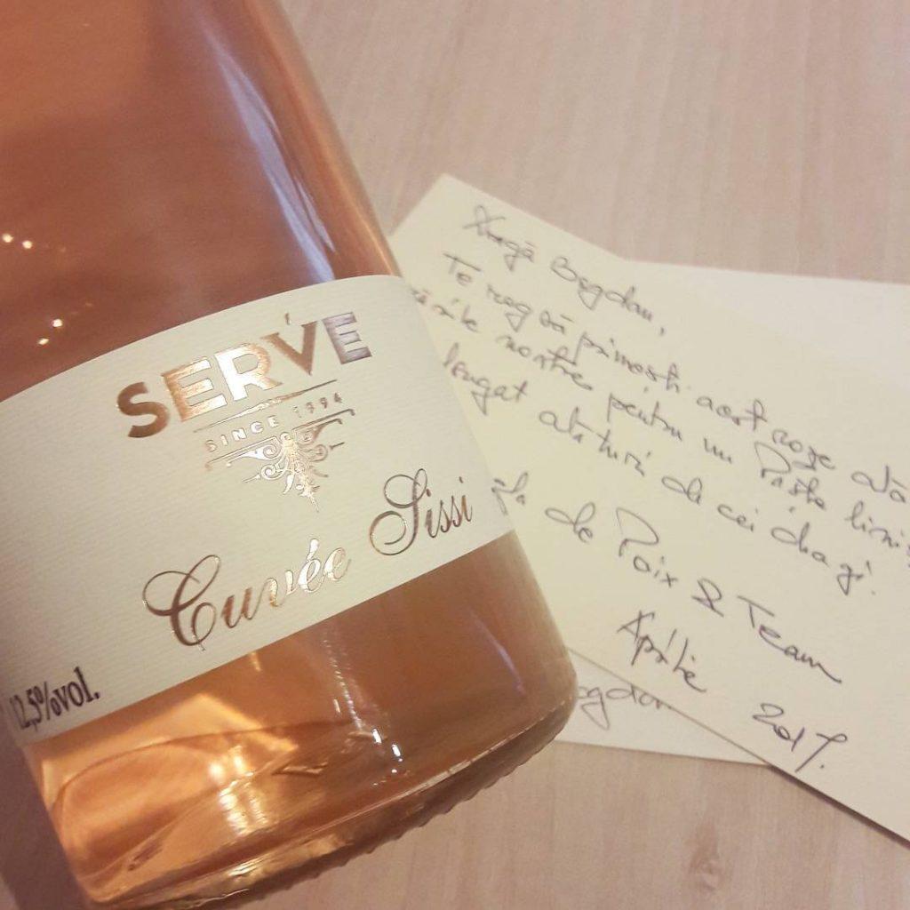 Cuvee Sissi 2016, SERVE
