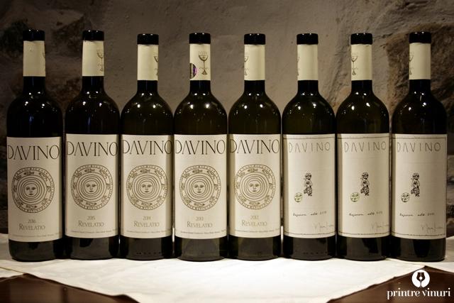 Degustare verticala Davino Revelatio 2012-2016 & Davino Rezerva Alb 2011-2013